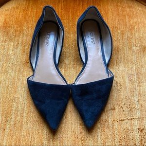 J. Crew Suede Leather Flats